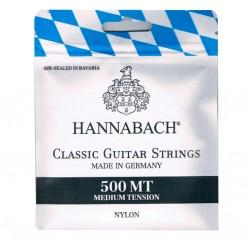 Cuerdas de guitarra clasica española Hannabach 500MT envío gratis