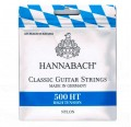 Cuerdas de guitarra clasica flamenca Hannabach 500HT