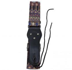 Correa guitarra y bajo Forest S-582 diseño azteca envio gratis