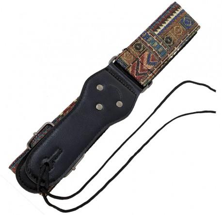 Correa guitarra y bajo Rockyou S-583 diseño azteca envio gratis