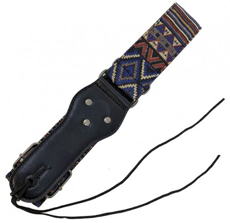 Correa guitarra y bajo Forest S-816 diseño azteca envio gratis