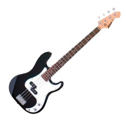 Bajo eléctrico Precission Bass Aria STB-PB color negro envio gratis
