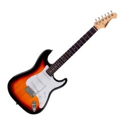 Guitarra eléctrica Stratocaster Aria STG-003 color sunburst envio gratis