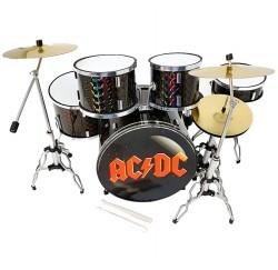 Miniatura batería acústica MDR-0251 ACDC regalo musical envio gratis