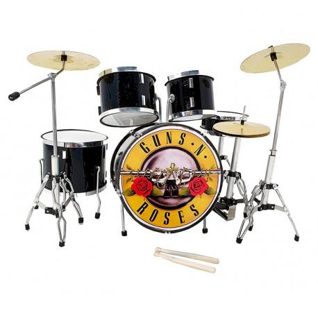 Miniatura Batería acústica MDR-0022 Guns & Roses regalo musical envio gratis