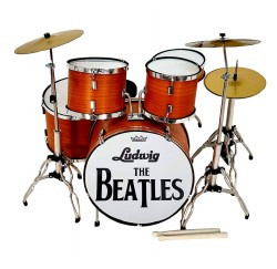 Miniatura bateria acustica MDR-0107 The Beatles regalo musical envio gratis