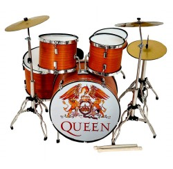 Miniatura bateria acustica MDR-0107 The Queen regalo musical envio gratis
