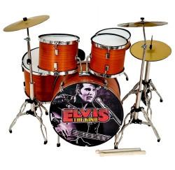 Bateria acustica miniatura MDR-0107 Elvis Presley regalo musical envio gratis