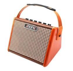 Amplificador de guitarra acústica Aroma AG-15A 15 W recargable envio gratis