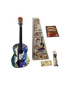 Pack guitarra acustica Recording King RG100H Hawaiian