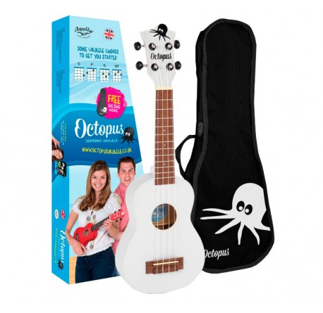 Ukelele Octopus UK-200 WH