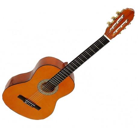 Guitarra clasica española de iniciadión tamaño 4/4 envio gratis