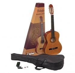 Pack guitarra clásica Toledo GP-44NT funda afinador y puas envío gratis