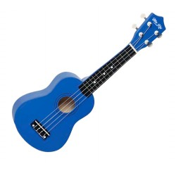 Ukelele soprano MAKAI azul oscuro con funda envio gratis