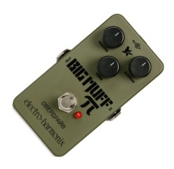 Pedal de efectos Electro Harmonix Big Muff Green Russian Fuzz envio gratis
