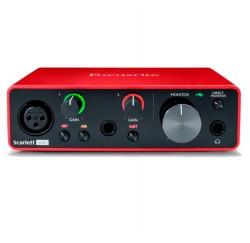 Interfaz de audio USB Focusrite Scarlett Solo 3rd Gen envio gratis