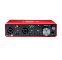 Interfaz de audio USB Focusrite Scarlett 2i2 3rd Gen envio gratis