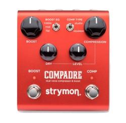 Pedal para guitarra compresor dual y booster Strymon Compadre envio gratis